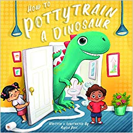 "Learn ""How to Potty Train a Dinosaur"" by Alycia Pace"
